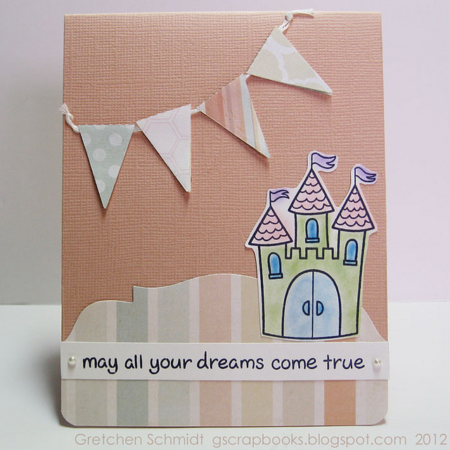 may all your dreams come true card (front)