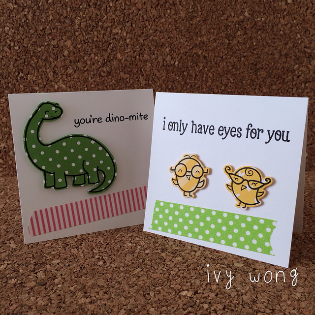 mini valentine's or 'just because' cards
