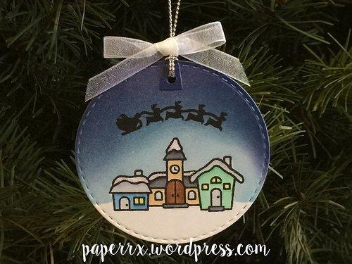 Christmas Village Tag